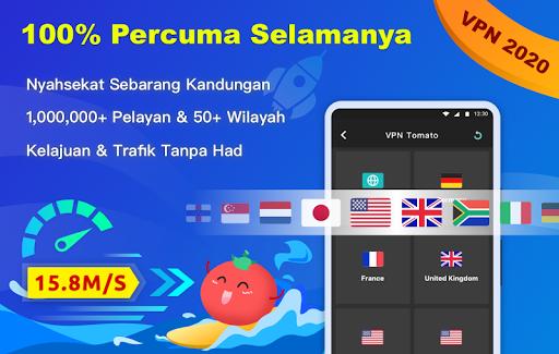 Free VPN Tomato | VPN Hotspot Percuma Terpantas screenshot 1