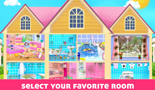 House Cleaning - Home Cleanup Girls Game screenshot 8