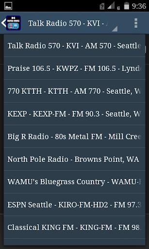 DC USA FM Radio 4 تصوير الشاشة