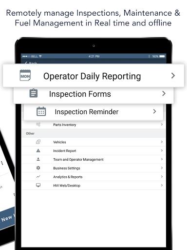 Heavy Vehicle Inspection Maintenance, CMMS APP screenshot 17