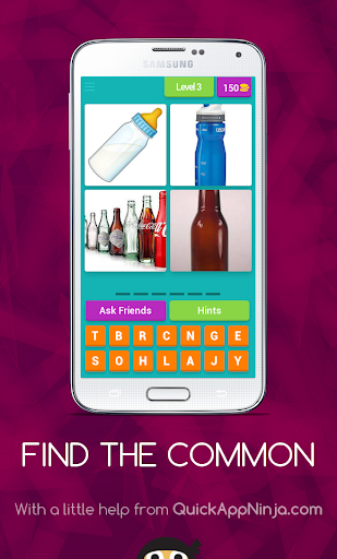 Find The Common:4 PICS 1 WORD screenshot 2