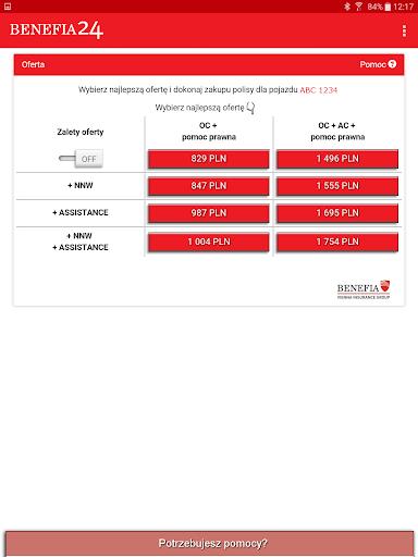 Ubezpieczenie OC AC Benefia 24 screenshot 9