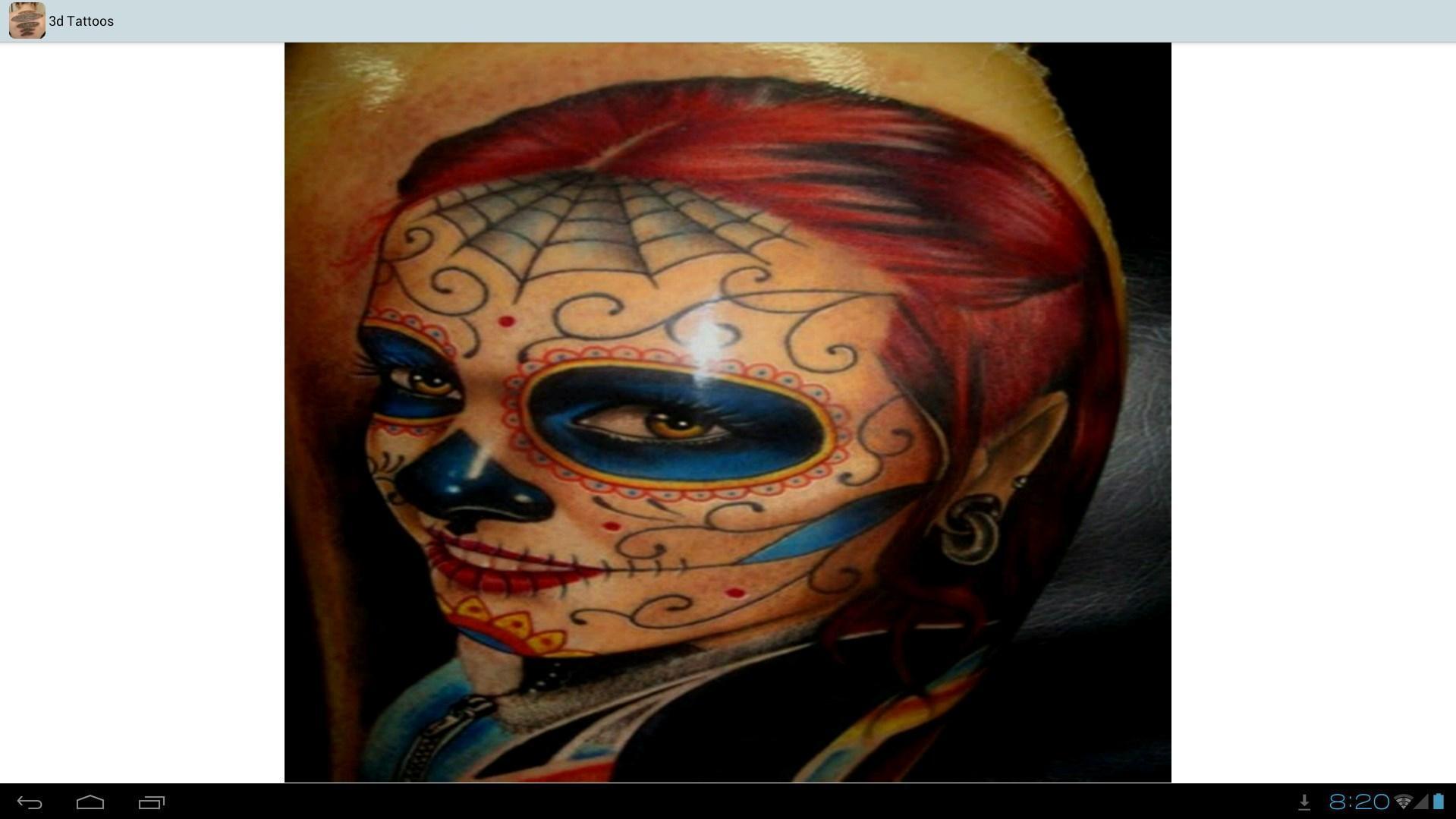 3d Tattoos Ideas 5 تصوير الشاشة