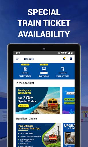 IRCTC Ticket, Train Status, Railway App: RailYatri screenshot 9
