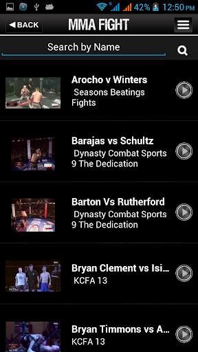 Fight TV India, 5 تصوير الشاشة