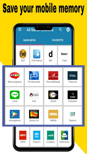 All social media apps 2020 4 تصوير الشاشة