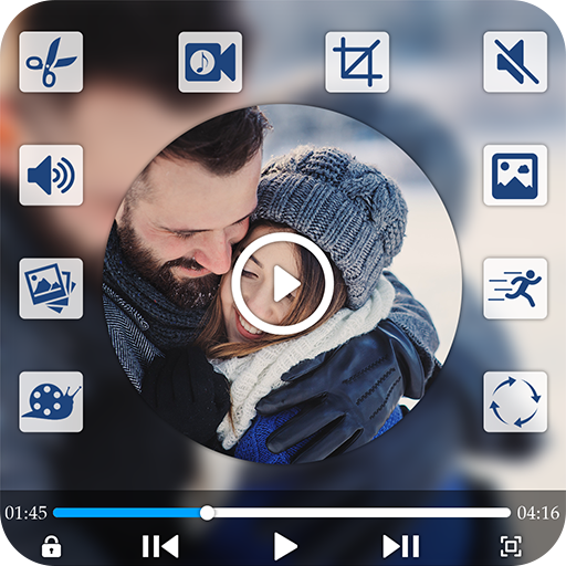 Video Editor with Music icon