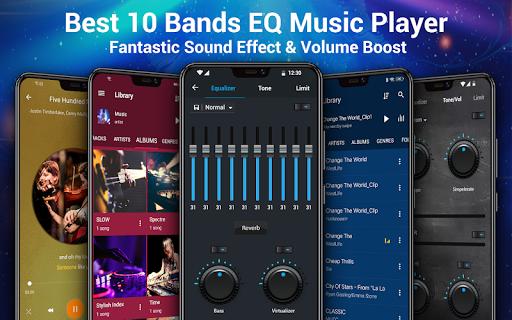 Pemutar musik - MP3 Pemain & 10 Band Equalizer screenshot 9