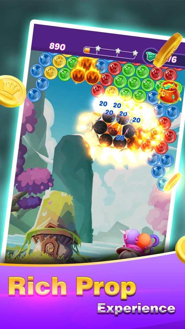 Golden Bubble Shooter screenshot 3