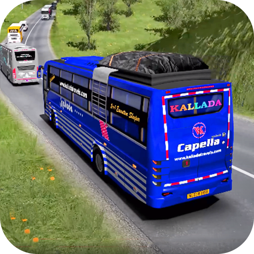 Coach Bus Driving 2020 : New Free Bus Games icon