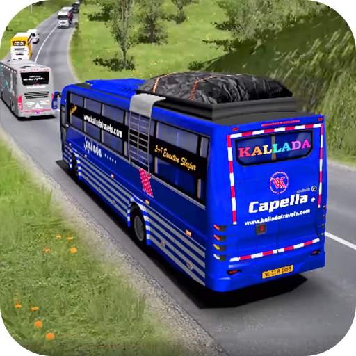 Coach Bus Racing Simulator 2020 : Top Bus Games
