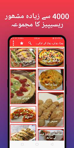 Pakistani food recipes - Urdu Recipes screenshot 1
