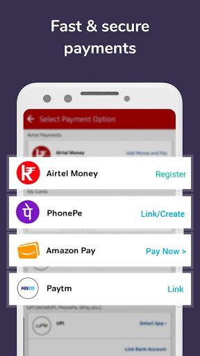 Airtel Thanks - Recharge, Bill Pay, Bank, Live TV screenshot 4