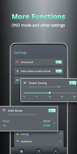 Flash on Call and SMS - Battery Manager screenshot 5