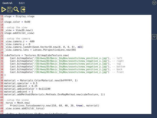 LuaStudio screenshot 2