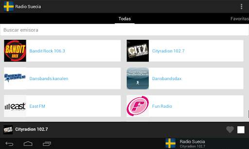 Radio Sweden screenshot 6