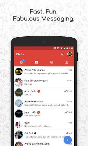 Catfiz Messenger 2 تصوير الشاشة