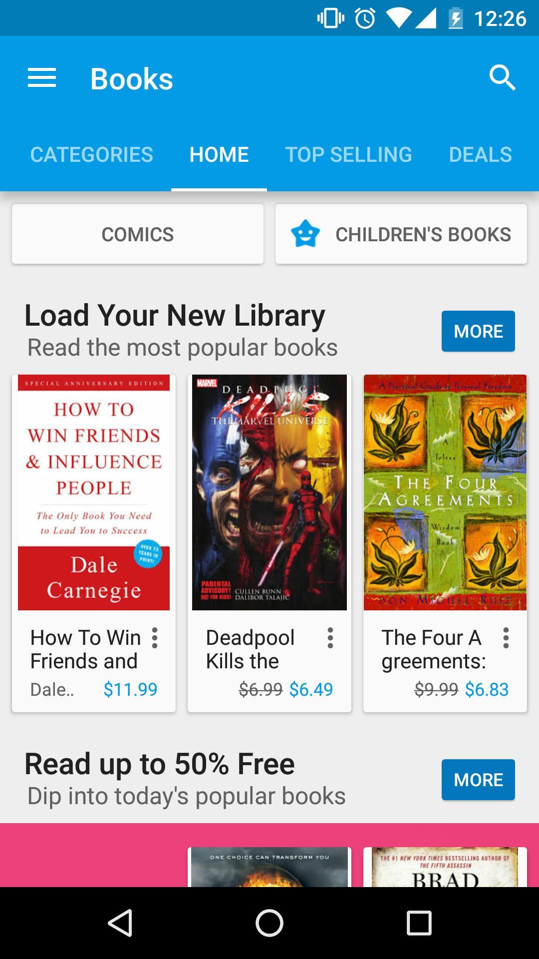 Google Play Store 7 تصوير الشاشة