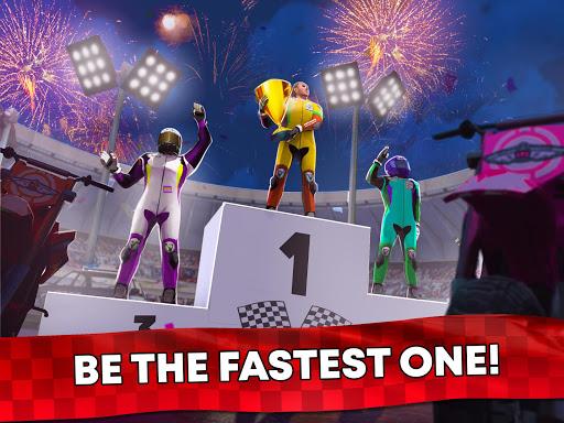 Free Motor Bike Racing - Fast Offroad Driving Game screenshot 13