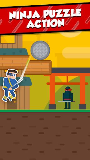 Mr Ninja - Slicey Puzzles screenshot 1