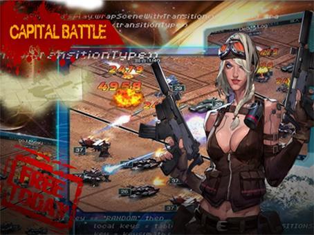 Empires&War: Blood Q Invasion 5 تصوير الشاشة