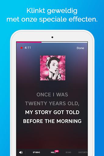 Karaoke - Zing onbeperkt karaoke - liedjes screenshot 13