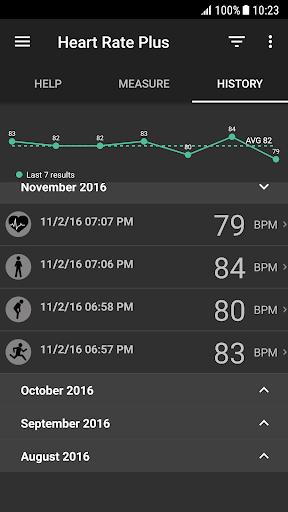 Heart Rate Plus: Pulse Monitor screenshot 3