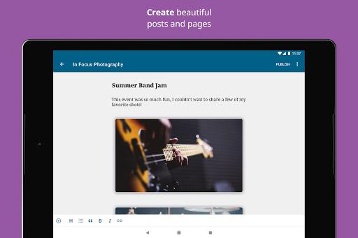 WordPress screenshot 9