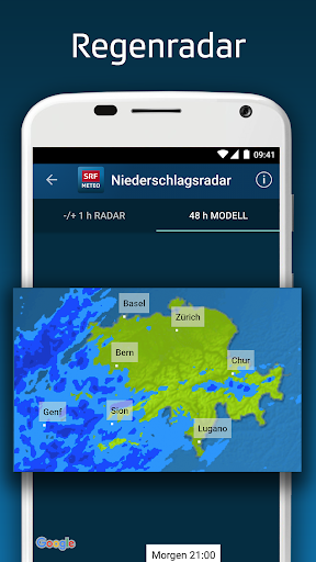 SRF Meteo - Wetter Prognose Schweiz screenshot 5