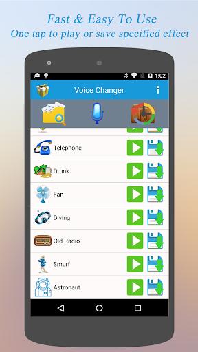 Best Voice Changer - Free 4 تصوير الشاشة