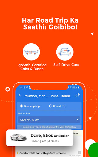 Goibibo Travel App-Hotel, Flight, IRCTC Train, Bus screenshot 6