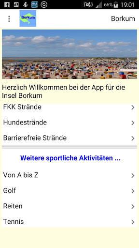 Borkum App für den Urlaub screenshot 14