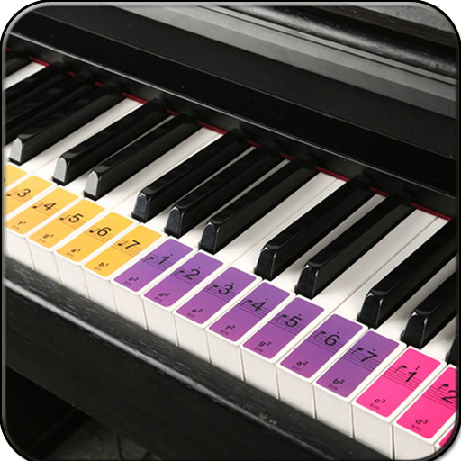 Real Piano Learning Keyboard 2020 أيقونة