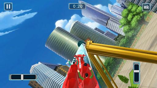 Rücksichtslose Achterbahn-Simulator-Spiele screenshot 4