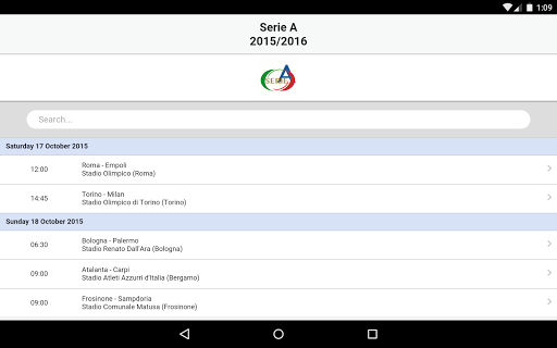 Serie A screenshot 14