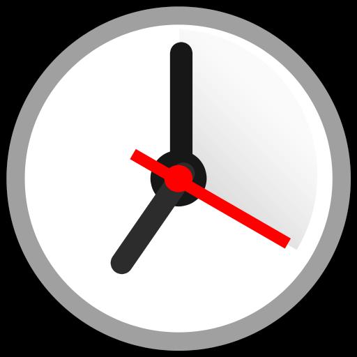 New Alarm: Clock with Holidays أيقونة