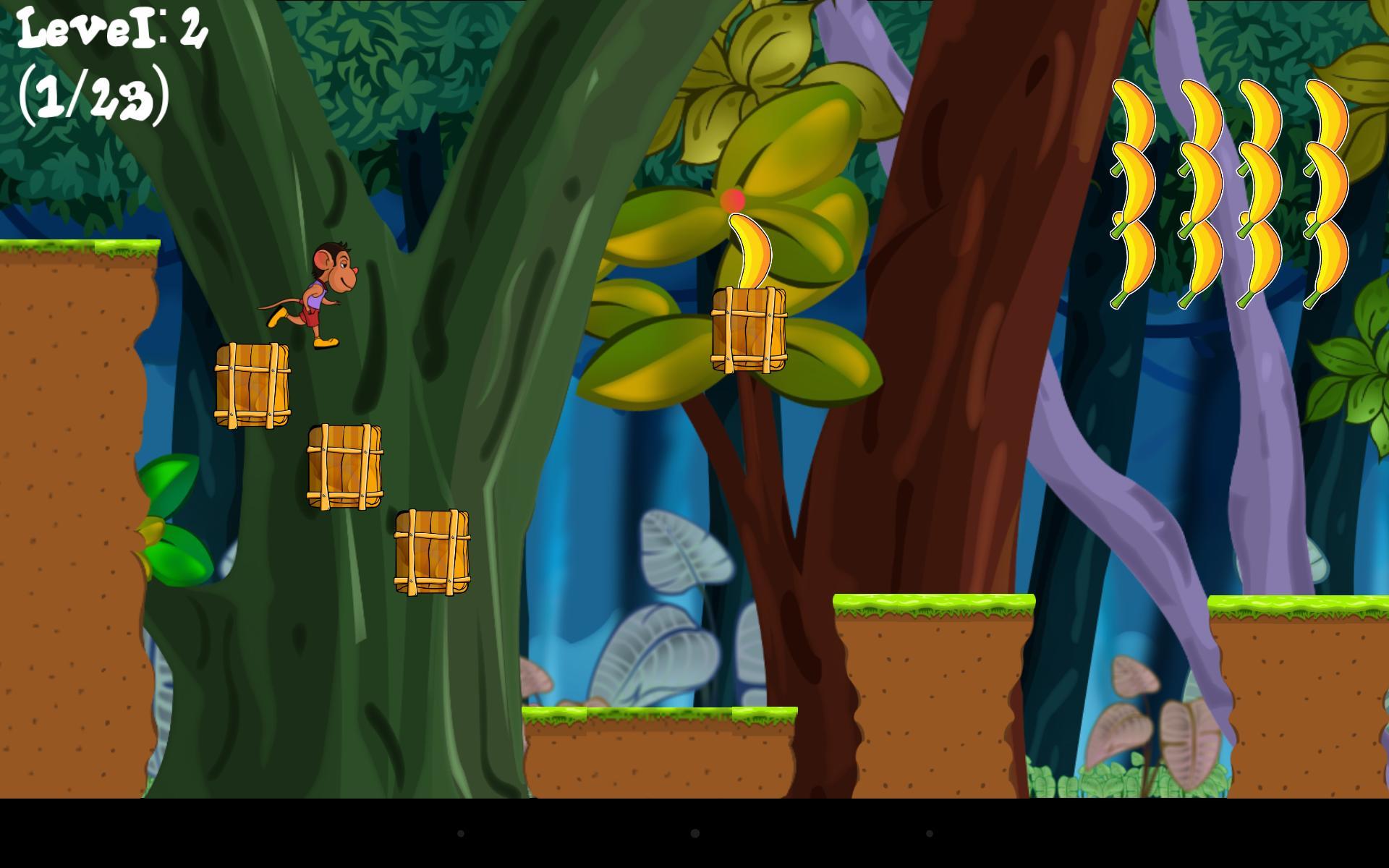 Jungle Loony Monkey Adventure 4 تصوير الشاشة