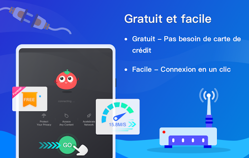 Free VPN Tomato | Un VPN gratuit ultra rapide screenshot 7