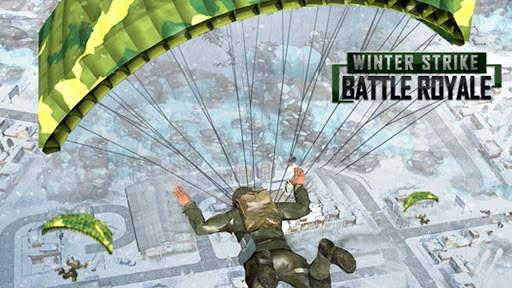 Winter Strike Free Firing Battle Royale screenshot 1