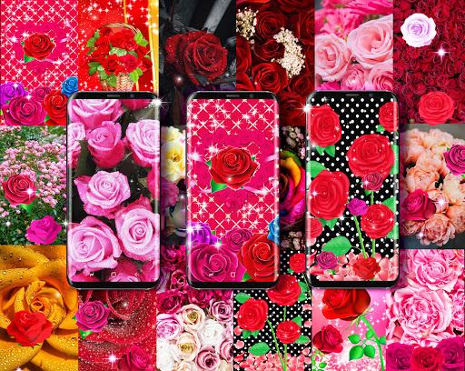 2021 Roses live wallpaper screenshot 1