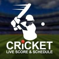 Cricket Live Score & Schedule أيقونة