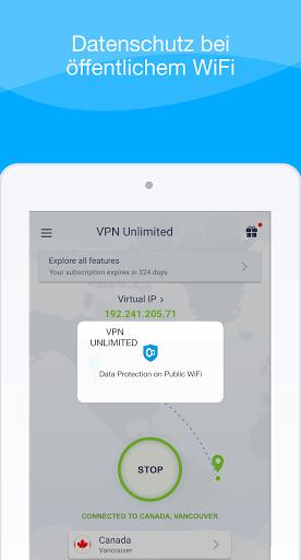 VPN Unlimited - WiFi Proxy screenshot 14