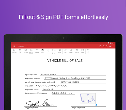 PDF Extra - Scan, View, Fill, Sign, Convert, Edit screenshot 9
