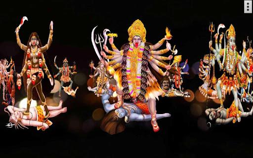 4D Maa Kali Live Wallpaper 5 تصوير الشاشة