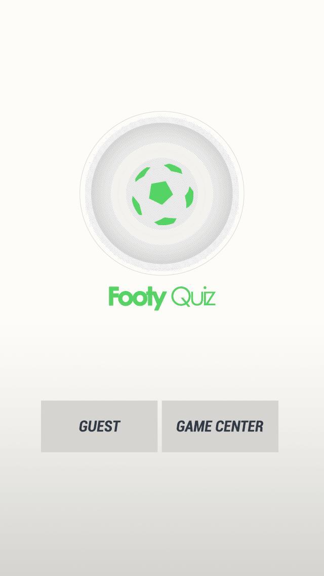 Footy Quiz 8 تصوير الشاشة
