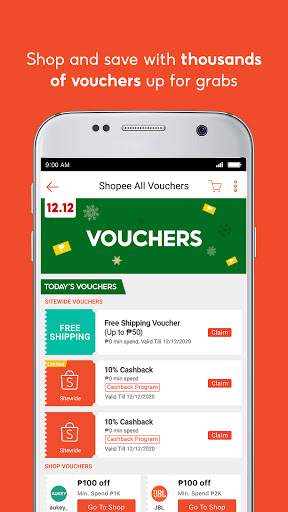 Shopee 12.12 Christmas Sale screenshot 6