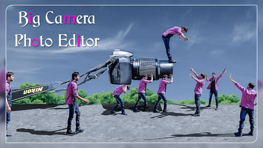 DSLR Photo Editor : Big Camera Photo Maker screenshot 2
