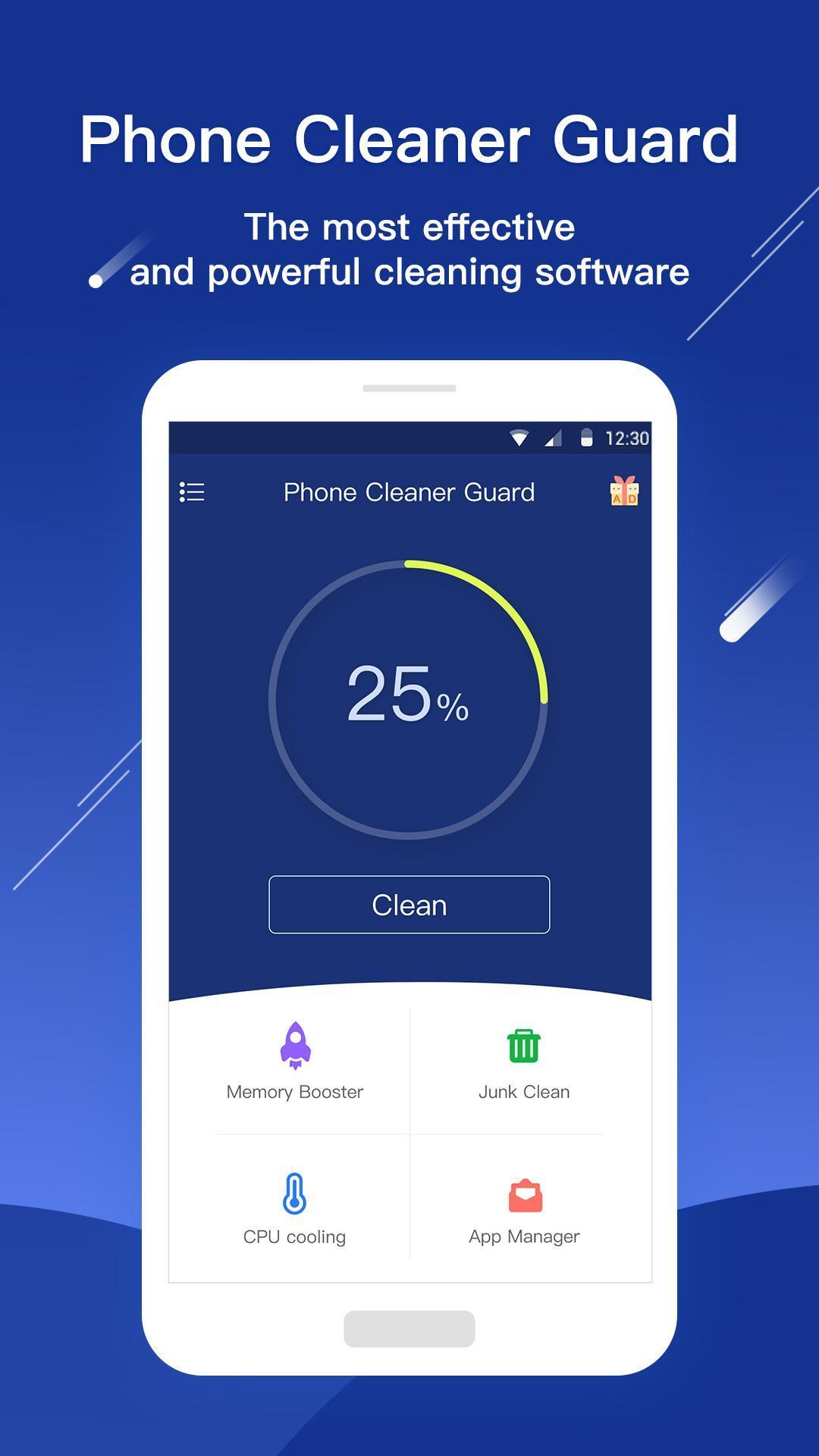 Phone Cleaner Guard -  Booster & Cleaner screenshot 1