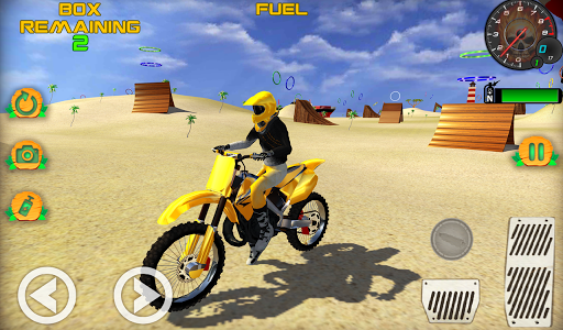 Motocross Beach Game: Bike Stunt Racing screenshot 4