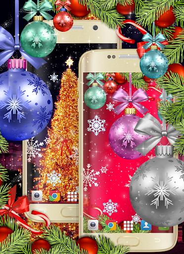 Christmas Wallpapers 🎅 Xmas Tree Live Wallpaper 6 تصوير الشاشة